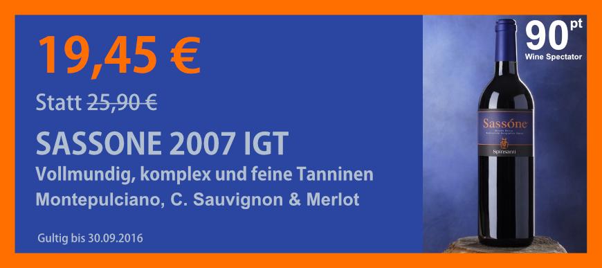 Sassone 2007 IGT