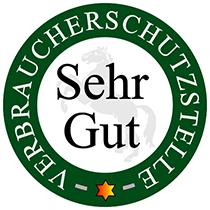 Unser Gütesiegel von Verbraucherschutzstelle eV Niedersachsen