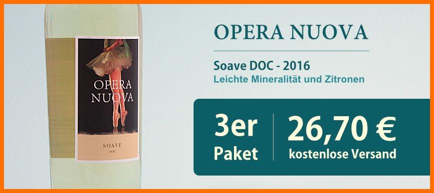Soave Opera Nuova 2016 3er Pack